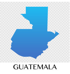 Guatemala map in north america continent design vector