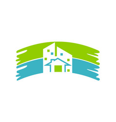 house repair and painting vector image