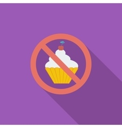 Icon cake vector image