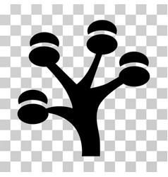 Money tree icon vector