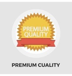 Premium quality icon flat vector