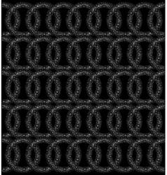 Retro black and white vector image
