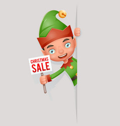 sale poster broadsheet advert look out corner boy vector image