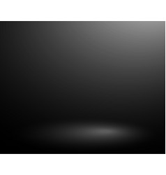 template empty black background with soft vector image