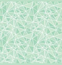 Mint green geometric mosaic triangles vector
