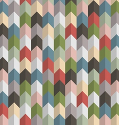 3d retro geometric seamless pattern with arrows vector image vector image