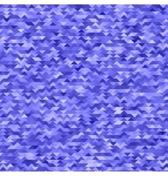 Abstract Mosaic Blue Triangles Background vector image