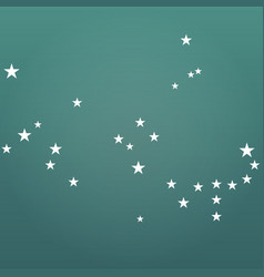 abstract star modern background vector image