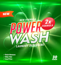 bathroom cleaning and laundry detergent product vector image