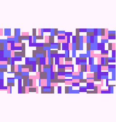 Colorful abstract geometrical mosaic pattern vector
