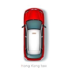 Hong Kong Taxi vector