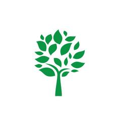 tree landscapes nature logo design vector image