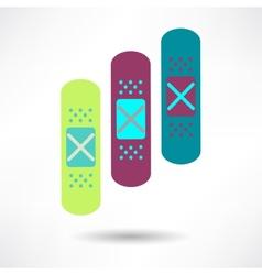 Bandage Health amp Medical Icon vector image