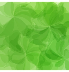 Green Background Watercolor Painting vector image