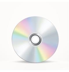 CD-DVD disc vector image