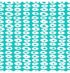 Hipster style pattern with doughnut like shapes vector