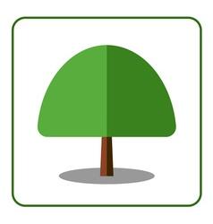 Maple tree icon vector