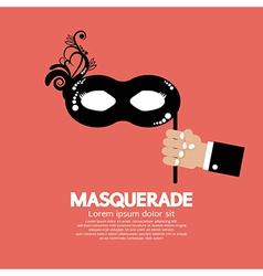 Masquerade vector image