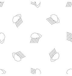 snow and rain pattern seamless vector image