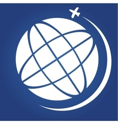 Travel icon Globe vector