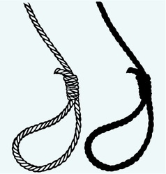 Classic loop knot vector image