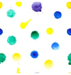 ink stains vector image vector image