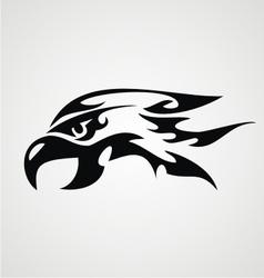 Tribal Eagle Head vector image vector image