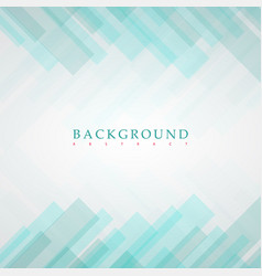 abstract green rectangles background vector image vector image