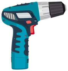 Cordless Drill electric work tool vector