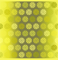 gradient citrus pattern seamless vector image