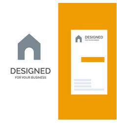 Home instagram interface grey logo design and vector