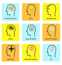 Human mind and thought vector