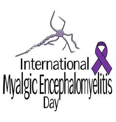 International myalgic encephalomyelitis day vector