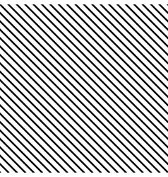 Line diagonal black seamless pattern vector