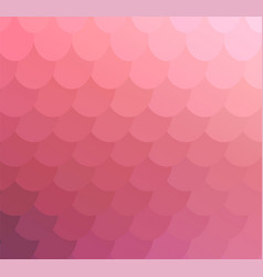 Pale pink delicate mosaic backdrop for banner vector