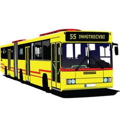 public buses vector image