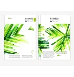 Business Abstract Brochure designs vector image