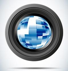 camera photo vector image