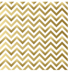 Chevron gold and white pattern vector