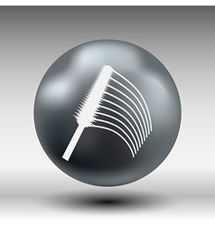 collection of a mascara shapes each one is shot vector image