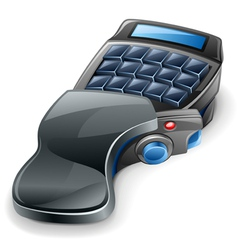 game keyboard vector image