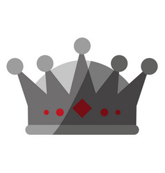 Royalty crown icon imag vector