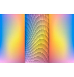 Sunrise Colored Abstract Background vector image