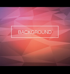 Triangle warm background vector
