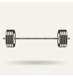 monochrome fitness icon vector image vector image