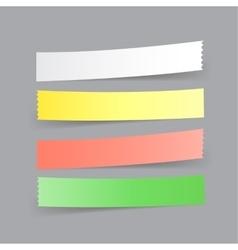 paper menu option vector image