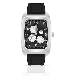 wristwatch 07 vector image