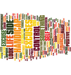 Excuse again text background word cloud concept vector