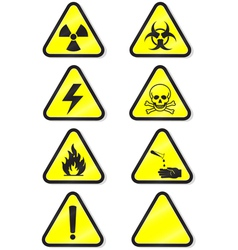 Chemical warning vector