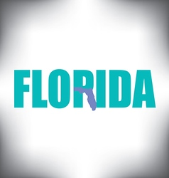 Florida state graphic vector image vector image